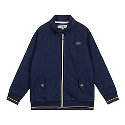 Baker by Ted Baker - Boy's navy jersey harrington jacket