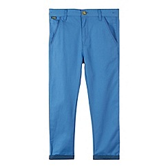 Baker by Ted Baker - Boy's blue textured slim trousers