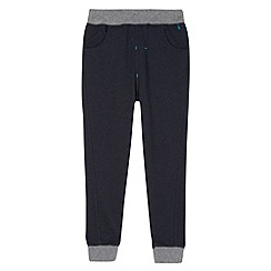 Baker by Ted Baker - Boy's navy striped trim joggers