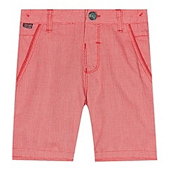 Baker by Ted Baker - Boy's red pin dot shorts