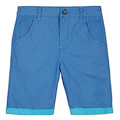 Baker by Ted Baker - Boy's blue textured shorts