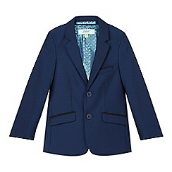 Baker by Ted Baker - Boy's navy occasion jacket