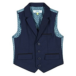 Baker by Ted Baker - Boy's navy occasion waistcoat