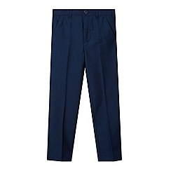 Baker by Ted Baker - Boy's navy occasion trousers