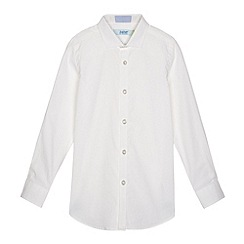 Baker by Ted Baker - Boy's white star print shirt