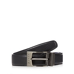 Baker by Ted Baker - Blue reversible pin buckle belt