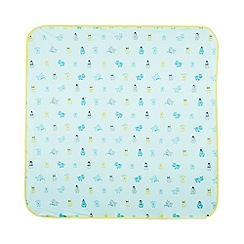 Baker by Ted Baker - Babies light green hippo blanket