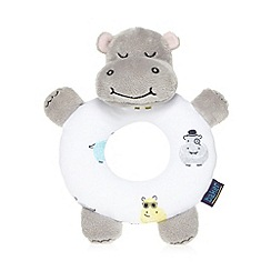 Baker by Ted Baker - Babies soft hippo rattle