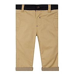 Baker by Ted Baker - Babies light tan jersey waistband chinos