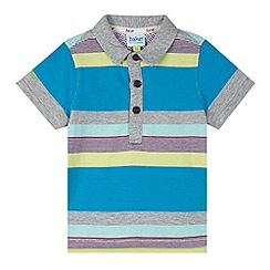 Baker by Ted Baker - Babies grey striped polo shirt