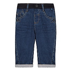Baker by Ted Baker - Babies blue cuffed jersey waistband jeans