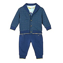 Baker by Ted Baker - Boy's blue jacket, top and joggers set