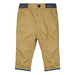 Baker by Ted Baker - Babies natural ribbed chinos