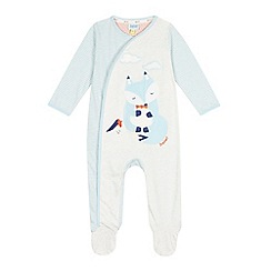 Baker by Ted Baker - Baby boys' blue fox sleepsuit