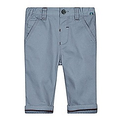 Baker by Ted Baker - Babies grey herringbone trousers