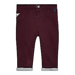 Baker by Ted Baker - Babies plum sweater chinos