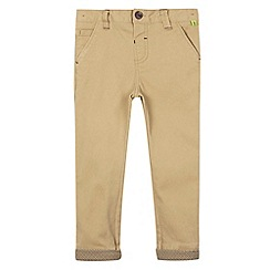 Baker by Ted Baker - Boy's light tan skinny chinos