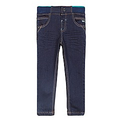 Baker by Ted Baker - Boy's blue ribbed waist skinny jeans