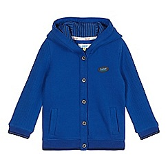 Baker by Ted Baker - Boy's blue knitted hoodie