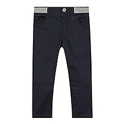 Baker by Ted Baker - Boy's navy ribbed waist jeans