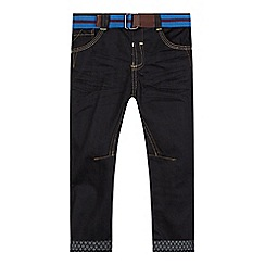 Baker by Ted Baker - Boy's dark blue belted jeans