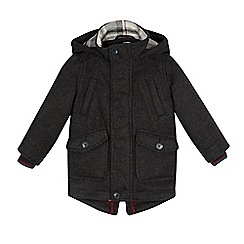 Baker by Ted Baker - Boys' grey hooded coat