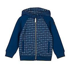 Baker by Ted Baker - Boys' blue zip through sweatshirt