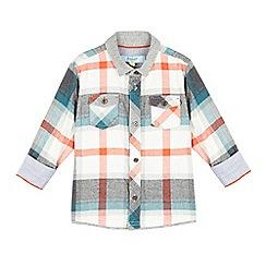 Baker by Ted Baker - Boys' blue check shirt