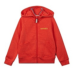 Baker by Ted Baker - Boy's orange quilted hoodie