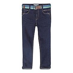 Baker by Ted Baker - Boy's blue belted skinny jeans