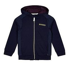 Baker by Ted Baker - Boys' blue zip hoodie