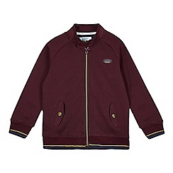 Baker by Ted Baker - Boy's plum jersey harrington jacket