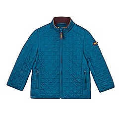Baker by Ted Baker - Boy's dark turquoise quilted jacket
