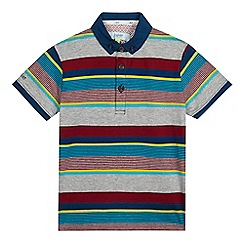 Baker by Ted Baker - Boys' striped polo shirt