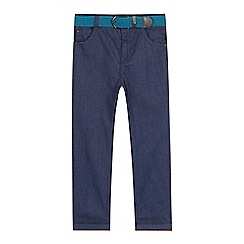 Baker by Ted Baker - Boys' blue birdseye trousers