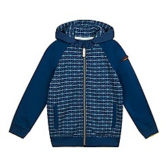Baker by Ted Baker - Boys' navy zip fastening sweat hoodie