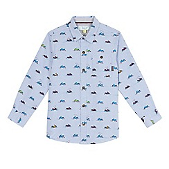 Baker by Ted Baker - Boys' blue jet ski printed shirt