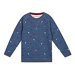 Baker by Ted Baker - Boys' blue polar bear sweater