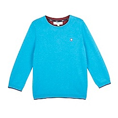 Baker by Ted Baker - Boys' blue knitted jumper