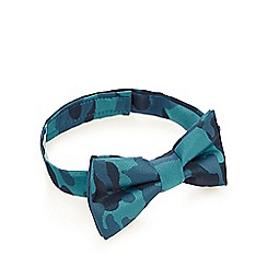 Baker by Ted Baker - Boy's blue camouflage bow tie