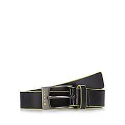 Baker by Ted Baker - Boy's black pin buckle belt