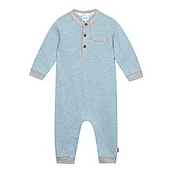 Baker by Ted Baker - Baby boys' blue striped romper suit