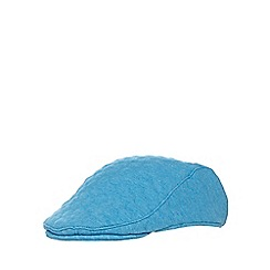 Baker by Ted Baker - Babies blue quilted flat cap