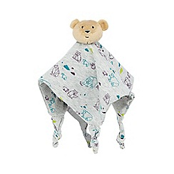 Baker by Ted Baker - Babies grey bear comforter