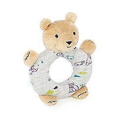 Baker by Ted Baker - Babies teddy bear rattle