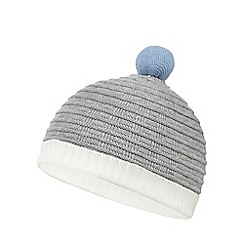 Baker by Ted Baker - Baby boys' grey knitted beanie hat