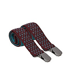 Baker by Ted Baker - Boys' turquoise geometric braces