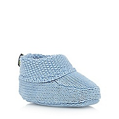 Baker by Ted Baker - Baby boys' blue knitted booties