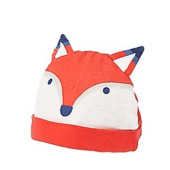 Baker by Ted Baker - Babies orange fox hat