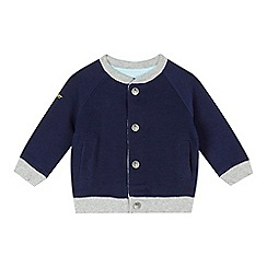 Baker by Ted Baker - Baby boys' light blue plane print reversible jacket